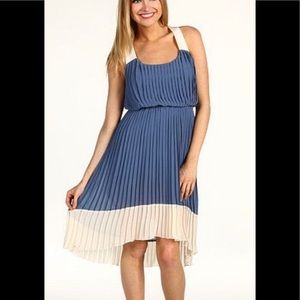 Jessica Simpson High Low Pleated Dress